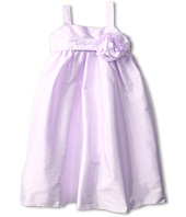 Us Angels - Empire Dress w/ Sash and Fabric Flower (Toddler)