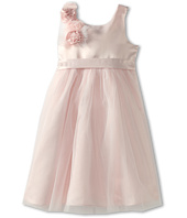 Us Angels - Empire Dress w/ Cascade of Rosettes (Little Kids)
