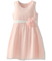 Us Angels - Chiffon Tank Dress w/ Ivory Belt (Little Kids)