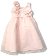 Us Angels - Empire Dress w/ Cascade of Rossettes (Big Kids)