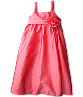 Us Angels - Empire Dress w/ Sash and Fabric Flower (Big Kids)