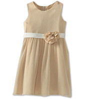 Us Angels - Chiffon Tank Dress w/ Ivory Belt (Big Kids)