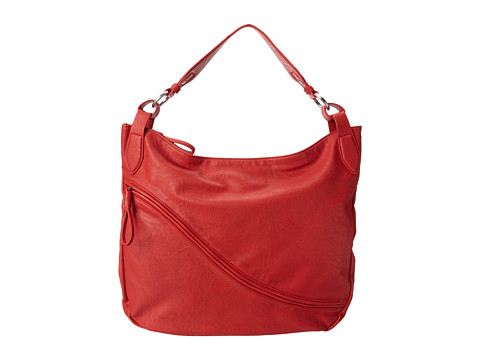 ECCO - Barth Hobo Bag (Red Alert) - Bags and Luggage