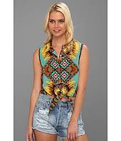 MINKPINK - Ashbury Crop Tie Shirt