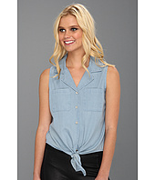 MINKPINK - Toto Sleeveless Lattice Cutout Shirt