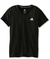 adidas Kids - Climalite S/S V-Neck (Little Kids/Big Kids)