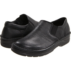 Image of Naot Footwear - Eiger (Black Textured Leather) Men's Slip on Shoes