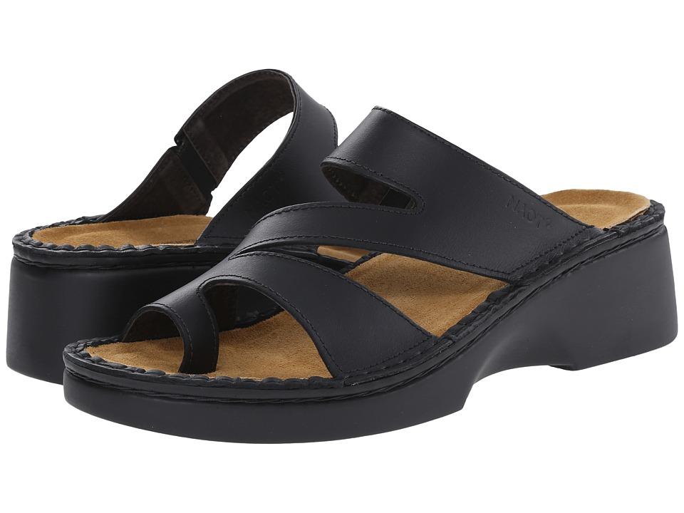 Naot Footwear Monterey (Black Matte Leather) Women's Shoes