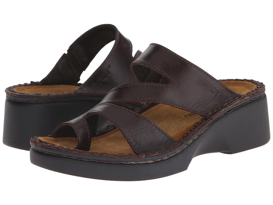 Naot Footwear Monterey (Walnut Leather) Women's Shoes