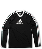 adidas Kids - Clima L/S V-Neck Top (Little Kids/Big Kids)