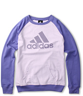 adidas Kids - All About The Crew Pullover (Little Kids/Big Kids)