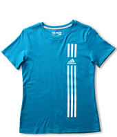 adidas Kids - Phantom Stripes Tee (Little Kids/Big Kids)