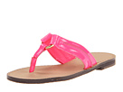 Lilly Pulitzer Kids - Girls Mini McKim Sandal (Toddler/Youth) (Fiesta Pink) Sandal