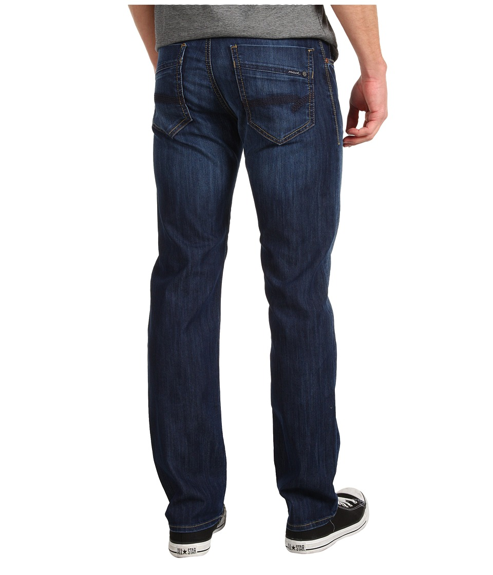 Mavi Jeans - Zach Regular Rise Straight Leg in Dark Maui (Dark Maui) Mens Jeans