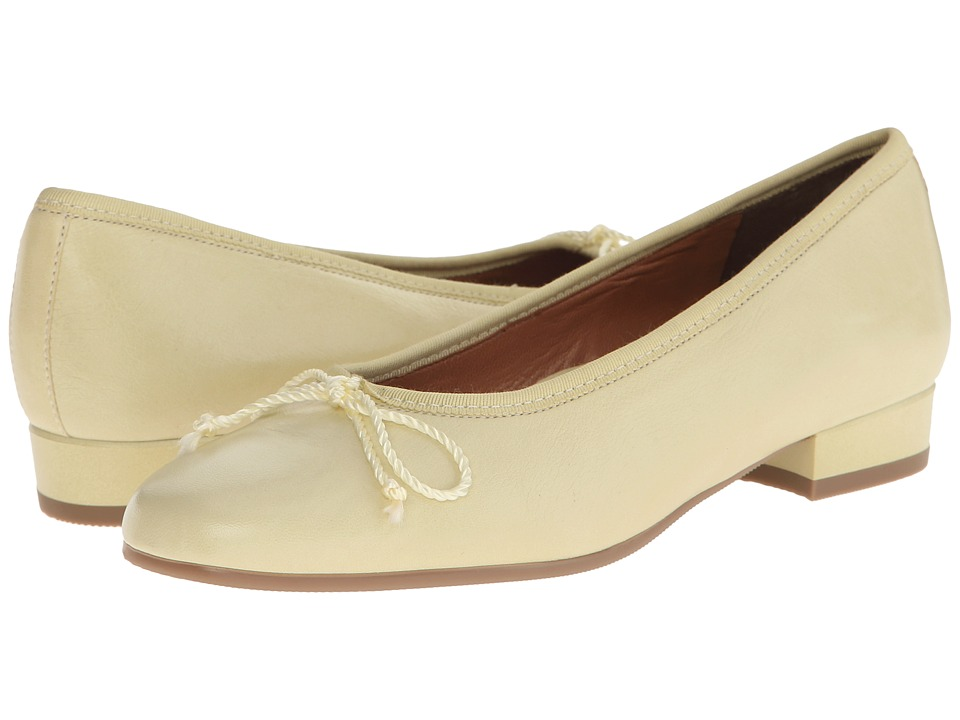 ara Brenan Lemon Sorbet Leather High Heels
