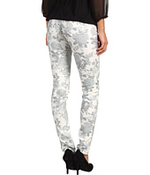 Mavi Jeans - Serena Low-Rise Super Skinny in White Floral