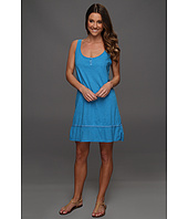 Michael Stars - Slub Jersey w/ Voile Mix Tank Dress