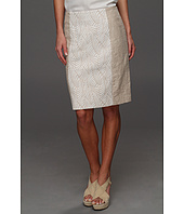 Calvin Klein - Mixed Media Pencil Skirt
