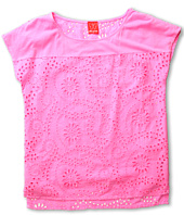 Ella Moss Girl - Heidi Eyelet Top (Big Kids)