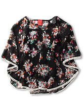 Ella Moss Girl - Citrus Floral Top(Big Kids)