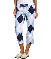 Loudmouth Golf - Blue and White Capri