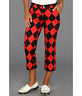 Loudmouth Golf - Red and Black Capri