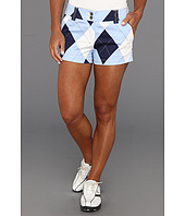 Loudmouth Golf - Blue and White Mini Short