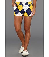 Loudmouth Golf - Blue and Gold Mega Mini Short