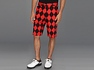 Loudmouth Golf Red and Black Short