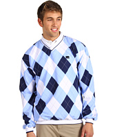 Loudmouth Golf - Blue and White V-Neck Windshirt