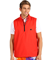 Loudmouth Golf - Red Half Zip 1/2 Zip Wind Vest