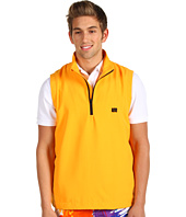 Loudmouth Golf - Orange Half-Zip Wind Vest