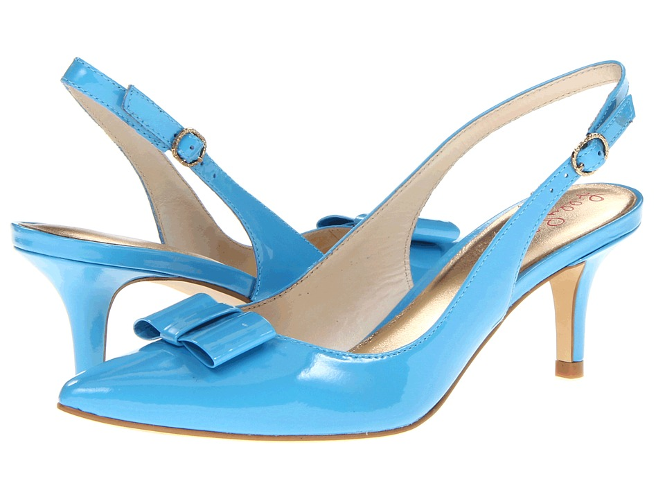 Lilly Pulitzer Kat Kitten Heel (Flutter Blue) High Heels