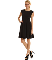 Eliza J - Pleated Fit and Flare Dress