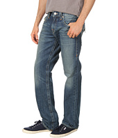 True Religion - Ricky Straight Multi-Stitch Logo in Short Fuse