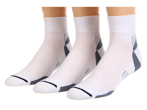 Wrightsock Velocity Qtr 3-Pair Pack