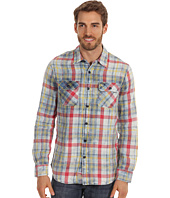 True Religion - Indigo Plaid Work Wear Shirt