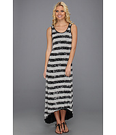 Kensie - Crackled Stripe Maxi Dress