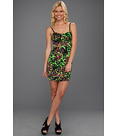 Kensie - Tropical Leaves Printed Dress