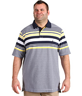 Nautica Big & Tall - Big & Tall S/S Engineered Stripe Polo