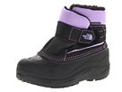 The North Face Kids - Powder-Hound (Toddler) (TNF Black/Peri Purple) - Footwear