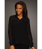 Kenneth Cole New York - Blouse w/ Layered Back