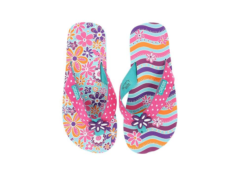 CHOOZE Chill Little Kid/Big Kid Charm Pink Girls Shoes