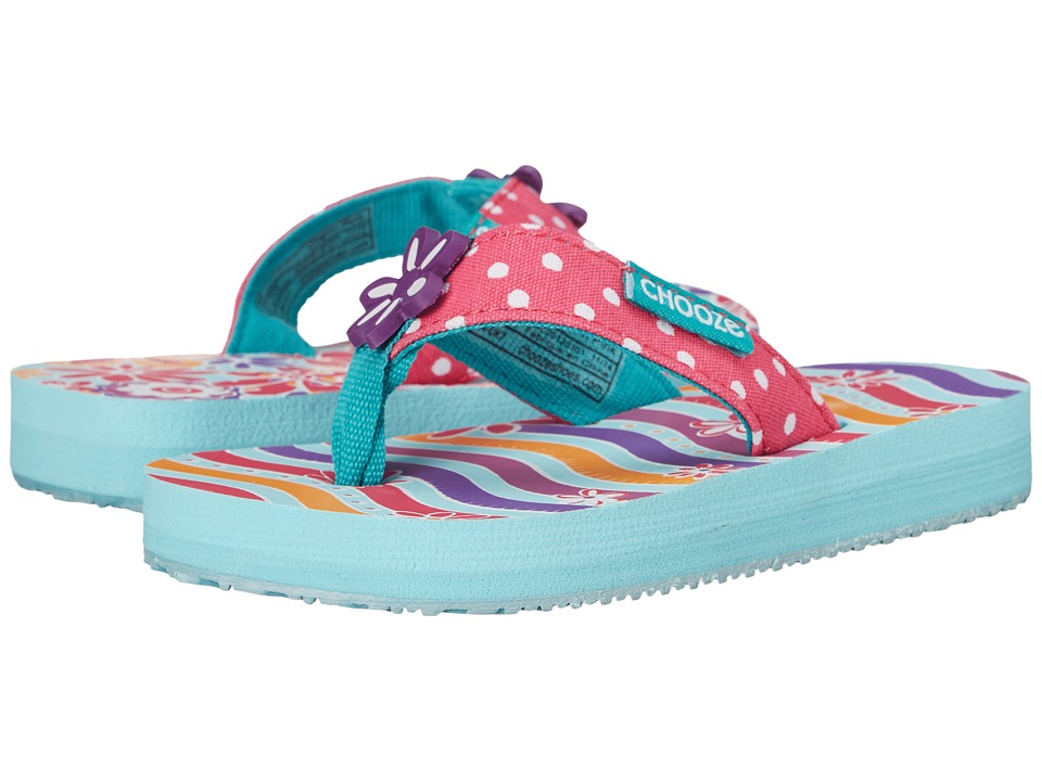 CHOOZE Chill Toddler/Little Kid Charm Pink Girls Shoes