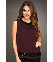 Jones New York - Sleeveless Jewel Neckline Blouse