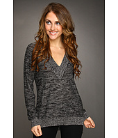 Jones New York - L/S Deep V-Neck Tunic Sweater