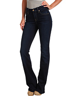 7 For All Mankind - Mid-Rise Kimmie Bootcut w/ Contoured Waistband in Black Night