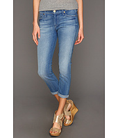 7 For All Mankind - Skinny Crop & Roll in Gleaming Red Cast
