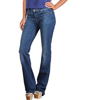 7 For All Mankind - Kimmie Bootcut w/ Contoured Waistband in Light Blue Stretch