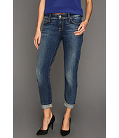 7 For All Mankind - Skinny Crop & Roll in Grinded Blue
